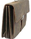 Портфель из натуральной кожи A-art TSM1401 коричневый, фото 4