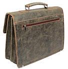 Портфель из натуральной кожи A-art TSM1401 коричневый, фото 10