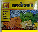 Детский конструктор WANGE Designer 625 деталей модель 58231, фото 5