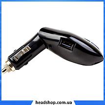 Трансмитер FM MOD V7 + BT, MP3 модулятор, фм модулятор для авто, Трансмиттер с экраном, блютуз модулятор, фото 3