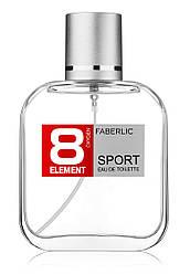 Faberlic Туалетна вода для чоловіків 8 ELEMENT SPORT 8 Element (Елемент 8) арт 3221