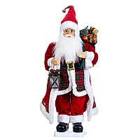 """Фигурка """"Дед Мороз с лампой музыкальный"""" 70 см (6011-005), фото 1"""