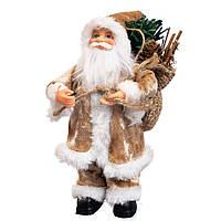 """Фигурка """"Санта с елкой"""" 18 см (6012-009), фото 1"""