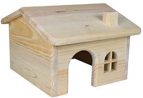 TX-61251 домик для мышей и хомяков (дерево) 15х11х15см