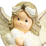 "Статуэтка ""Ангел с сердечком"" 40 см  (002NQ), фото 2"
