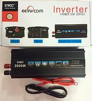 Преобразователь напряжения (инвертор) UKC 2000W ват 12V-220V