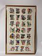 Картина вышивка Алфавит 86*53 см, ручная работа, картина вишивка ручної роботи, фото 3
