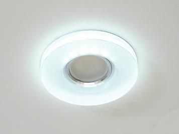 Светильник со встроенной светодиодной подсветкой