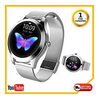 Женские Умные часы Smart VIP Lady Silver (частота сердцебиения, измерение давления)