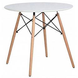 Стол обеденный круглый Bonro В-957-800 Белый