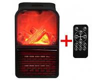 Портативный обогреватель +Пульт ДУ! - Flame Heater с LCD дисплей, камин