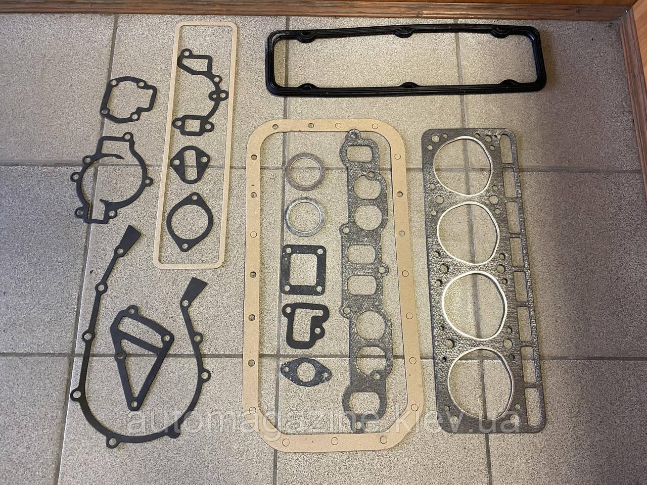Прокладки двигуна ГАЗ 2410, Газель (402-й двигун)