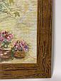 Картина вышивка Повозка 46*36, ручная работа, картина вишивка ручної роботи, фото 3