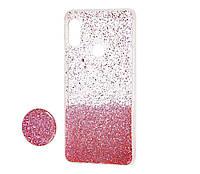 Чехол силиконовый Fashion popsoket для Huawei P Smart Plus pink