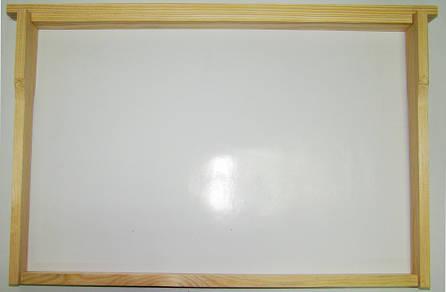 Рамка для ульев Дадан (435х300), сосна, СТАНДАРТ, с разд. Гофмана, фото 2