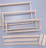 Рамка для ульев магазинная (435х145) высшего сорта (еврозамок вверху и внизу) (ель, сосна)