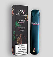 Одноразовая POD система JOY Summer peach 5%