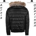 Куртка кожаная PU мужская Firetrap из Англии - демисезонная, фото 2