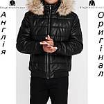 Куртка кожаная PU мужская Firetrap из Англии - демисезонная, фото 3