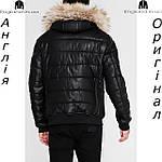 Куртка кожаная PU мужская Firetrap из Англии - демисезонная, фото 4
