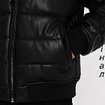 Куртка кожаная PU мужская Firetrap из Англии - демисезонная, фото 6