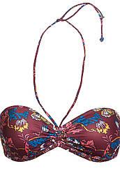 """Faberlic Лиф бандо """"Ориентал"""" цвет бордовый размер 90В 85В Oriental LB302 арт 86490"""