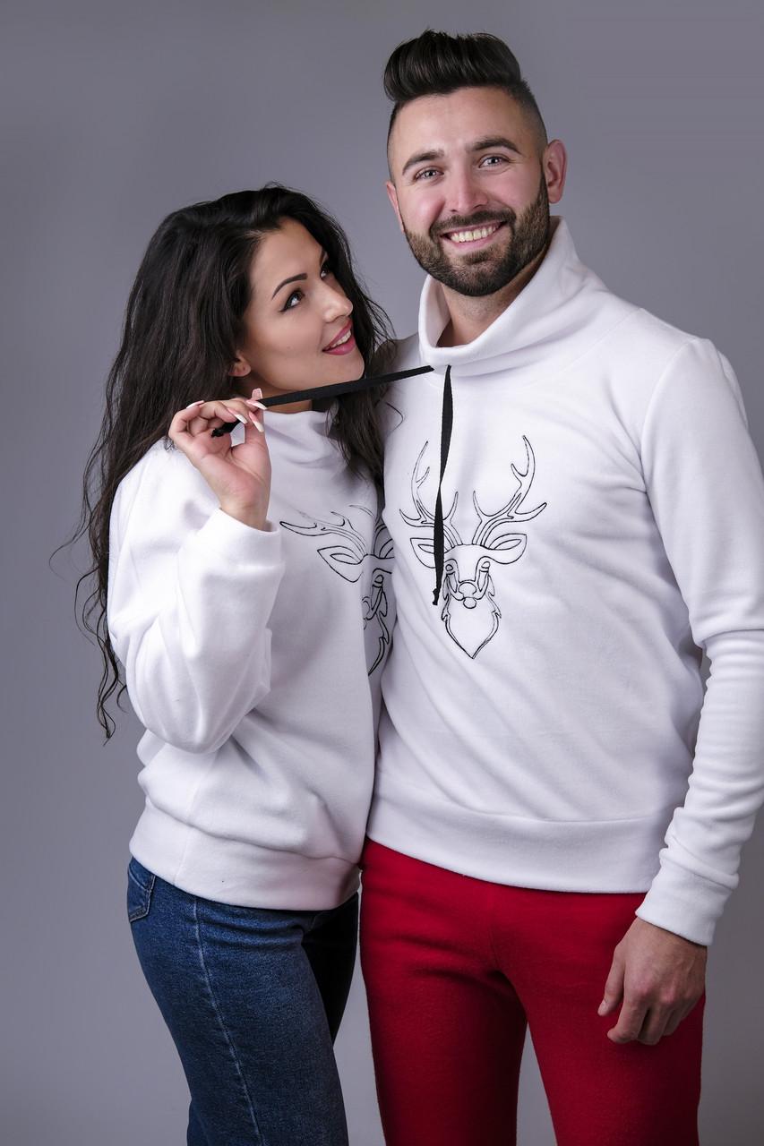 Парные свитера с оленями