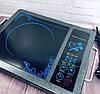 Электроплита инфракрасная Domotec MS-5842 - настольная плита для всех видов посуды, фото 3