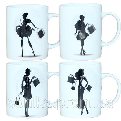 Чашка порцелянова S&T Шопінг 340 мл 040-01-19