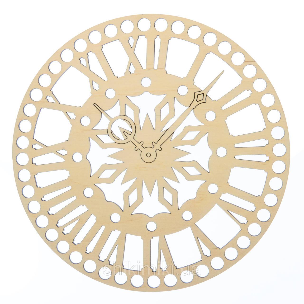 Заготовка из фанеры ажурная круглая -57 (20 см)