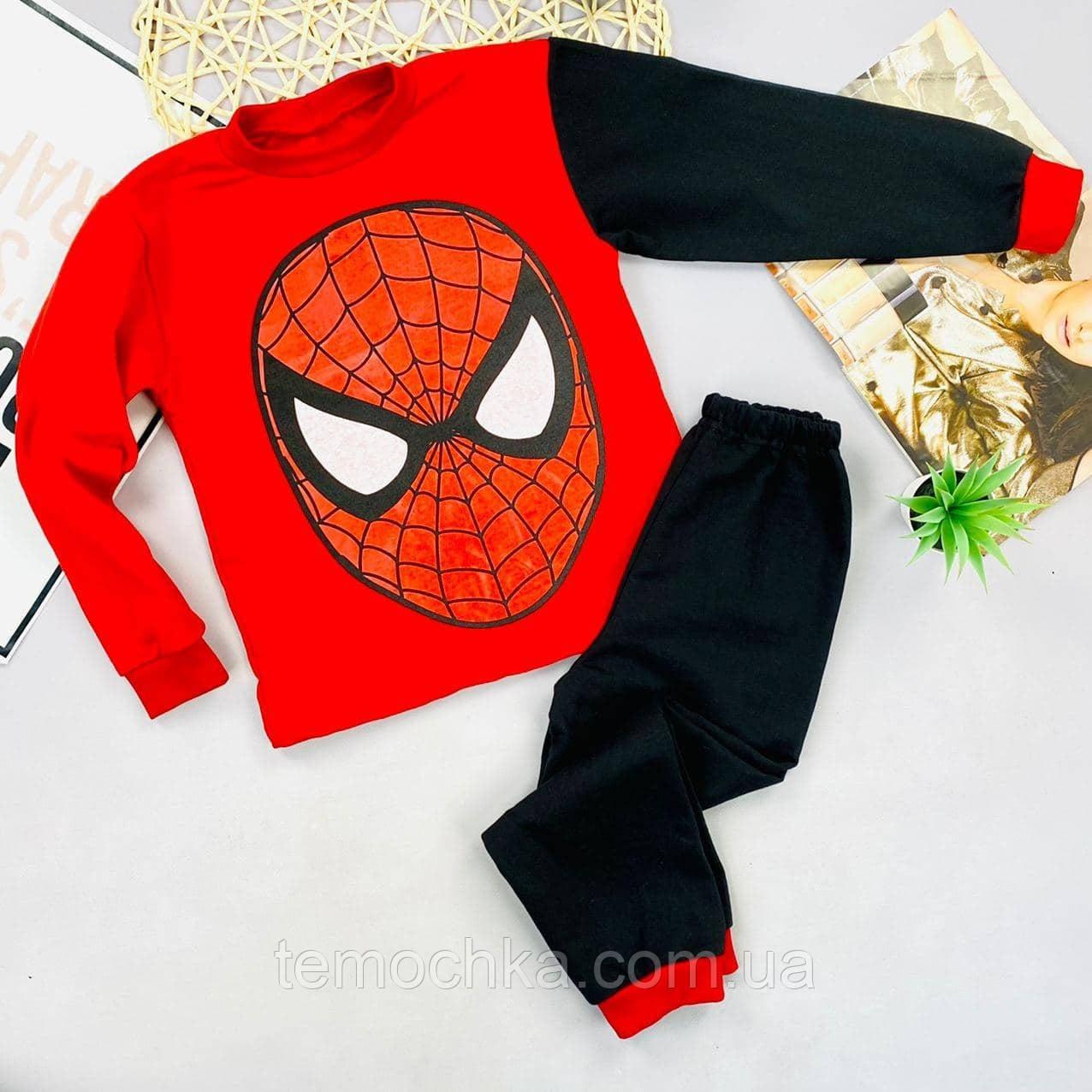 Пижама для дома и сна детская для детей Человек-паук Spiderman Спайдермен