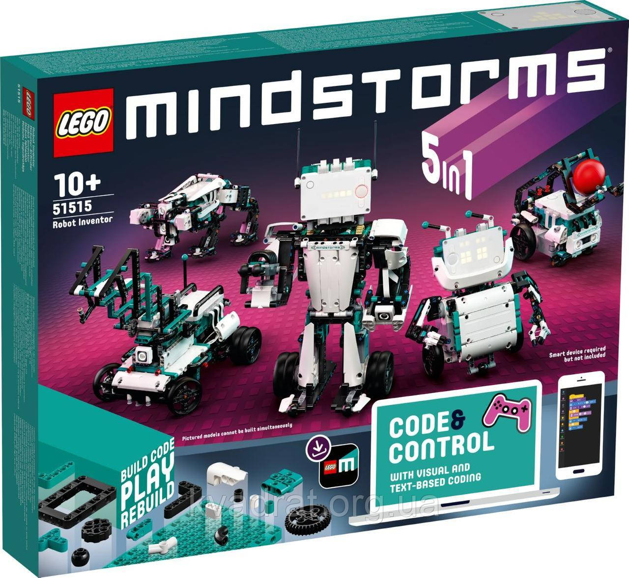 Lego Mindstorms Робот Изобретатель