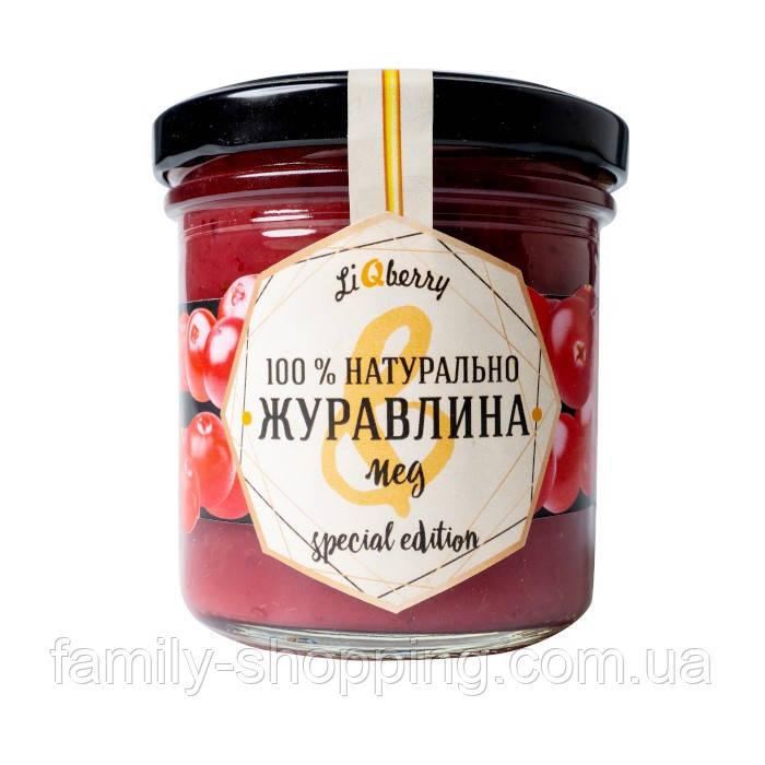 Паста Клюква + Мед LiQberry®, 165 г