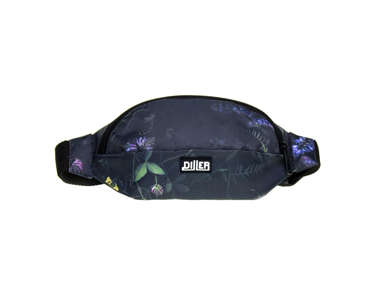 Поясная сумка Diller Night Bloom