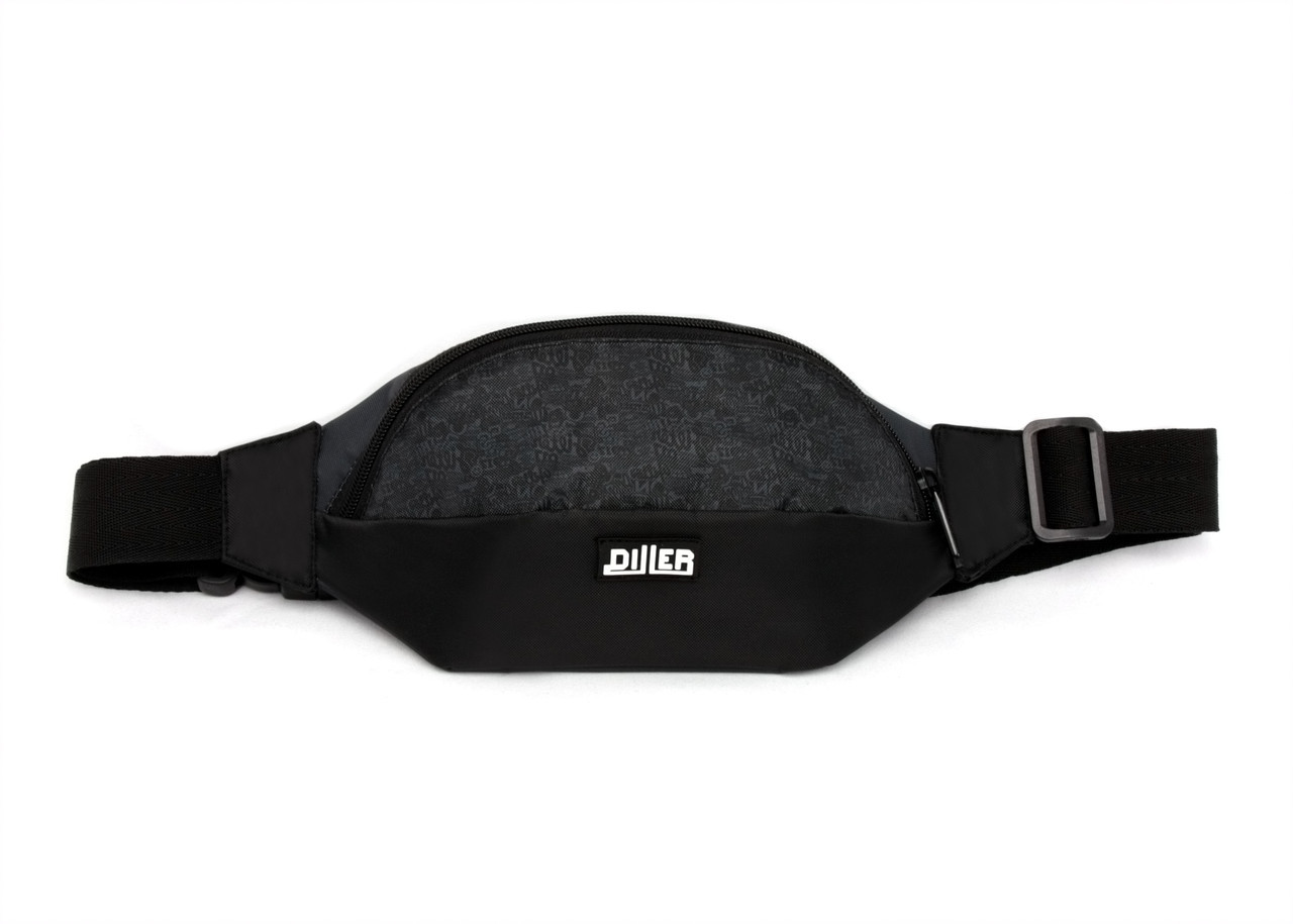 Поясная сумка Diller Pattern Black