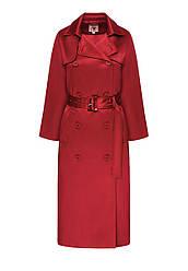 Отзывы (8 шт) о Faberlic Плащ для женщины цвет темно-красный размер 40 42 44 46 48 50 52 54 56 Vivat romantic