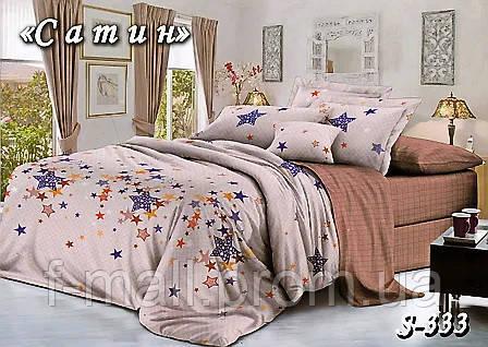 Комплект постельного белья Тет-А-Тет ( Украина ) Сатин двухспальное (S-333)