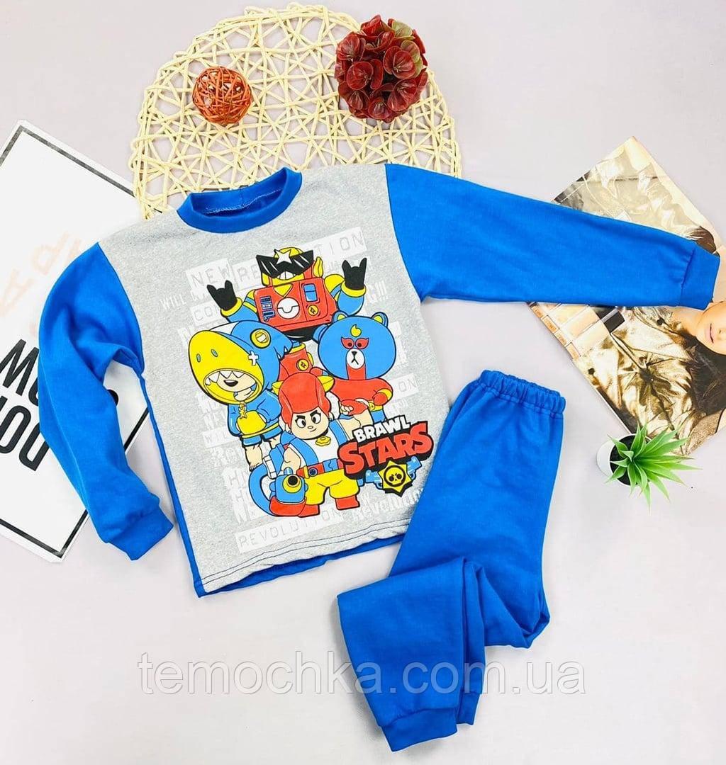 Пижама для дома и сна детская для детей Brawl Stars Бравл Старс