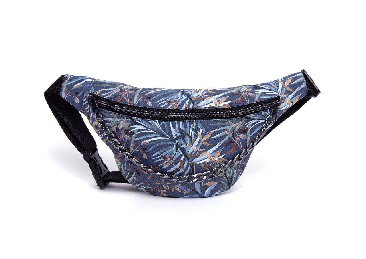 Сумка поясная женская Diller Tropic Blue