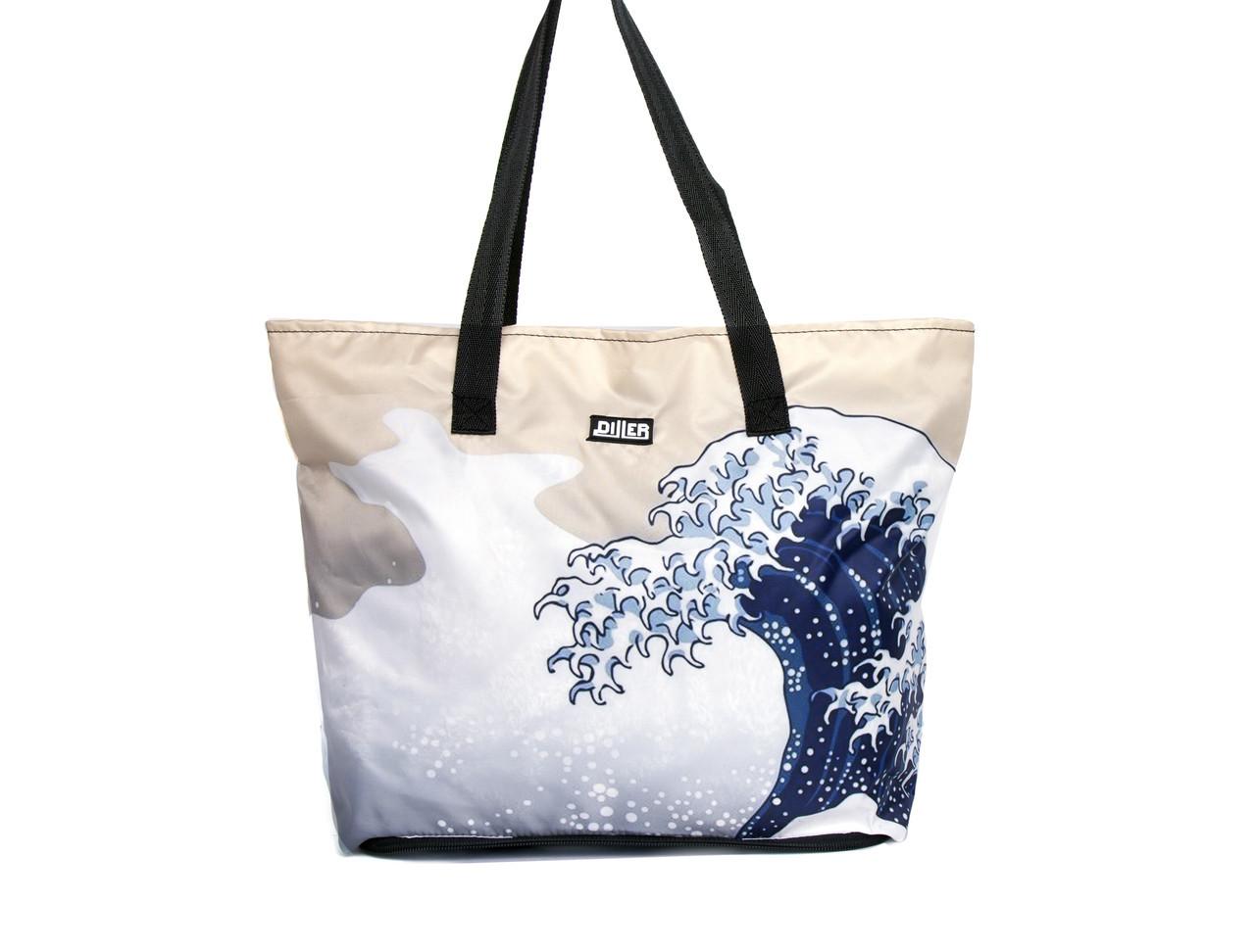 Шоппер Diller Kanagawa Wave