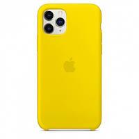 Чехол Silicone Case для Apple iPhone 11 Pro Max Canary Yellow