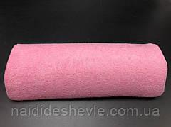 Подушка для маникюра, полукруг. Розовый