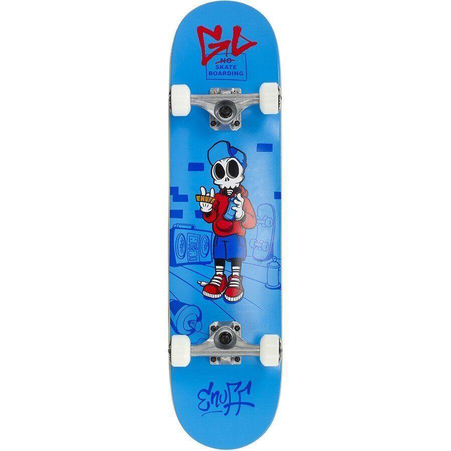 "Скейт Компліт Enuff Skully Blue 7.75"""