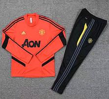 Мужской тренировочный костюм 19/20 Манчестер Юнайтедкрасный, фото 2