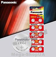 Батарейка Panasonic / LR44 / A76 / 1.5V. Батарейка алкалиновая панасоник для часов 1 штука