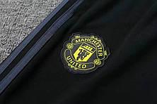 Мужской тренировочный костюм 19/20 Манчестер Юнайтед с горлом красный, фото 3