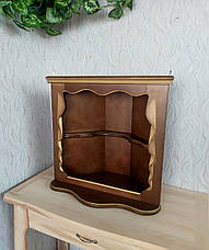 Полка для икон в угол из дерева от производителя (цвет на выбор), фото 2