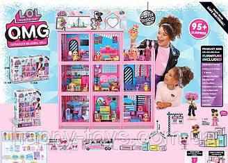 Детская Игрушка Для Девочек ЛОЛ Огромный кукольный домик LOL 3 этажа