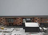 Рулонные шторы Len. Тканевые ролеты Лен Белый 0800, 60, фото 4