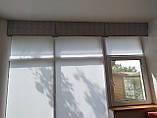 Рулонные шторы Len. Тканевые ролеты Лен Белый 0800, 60, фото 5